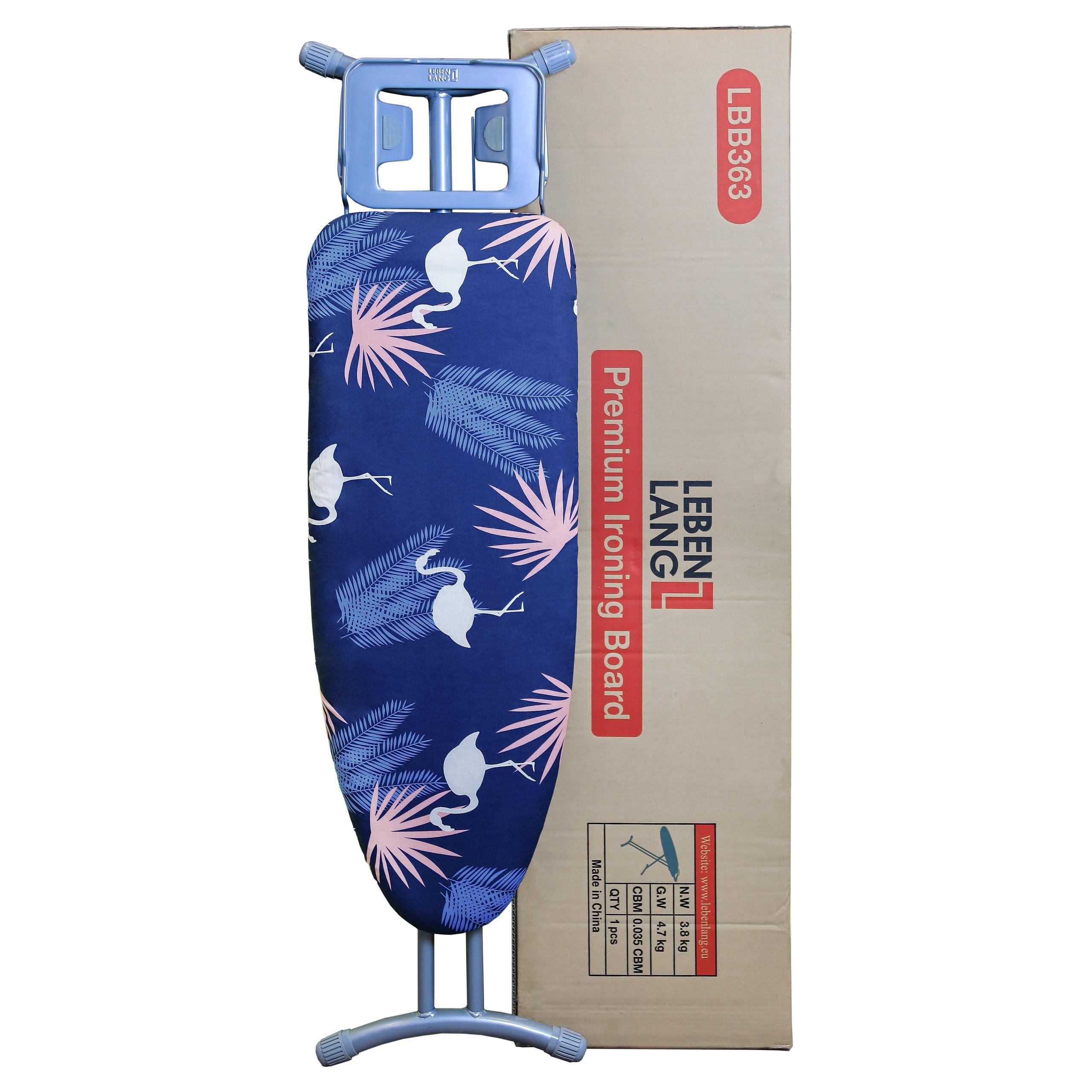 Bàn để ủi quần áo khung bằng thép Lebenlang LBB363