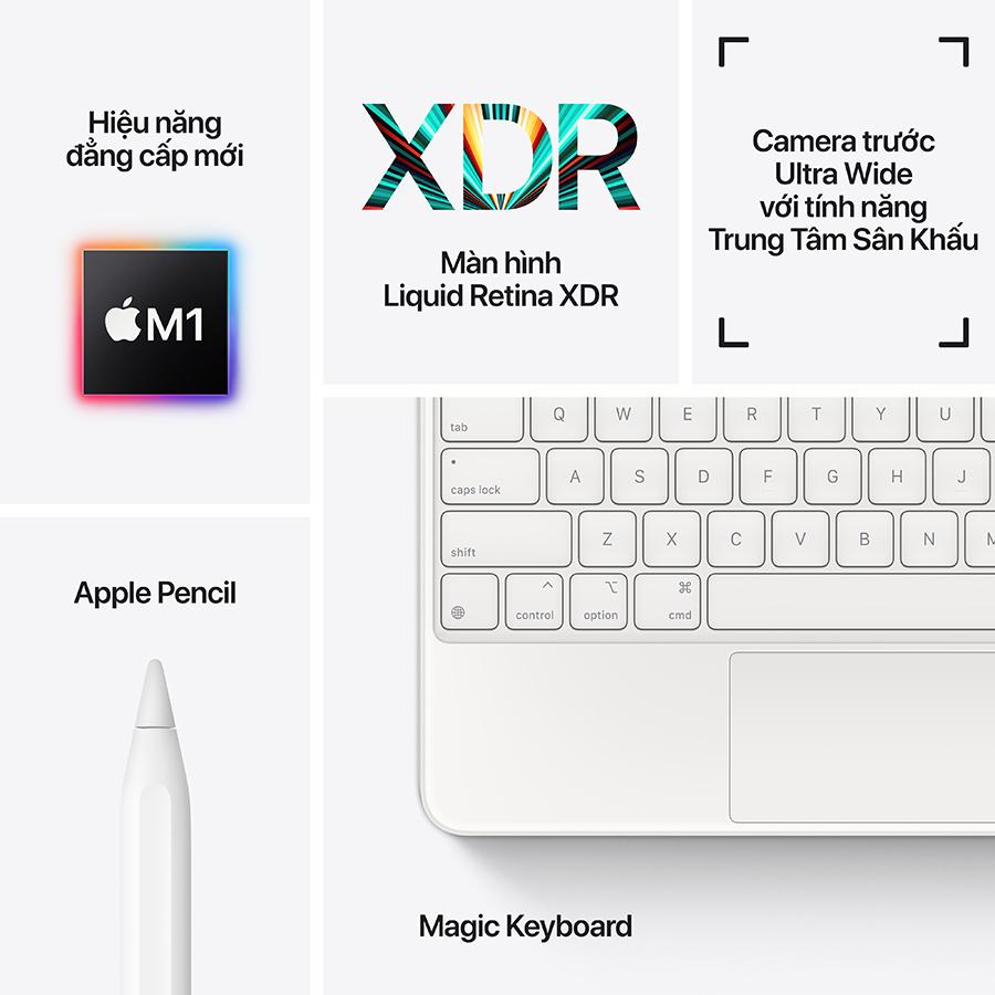 iPad Pro M1 12.9 inch (2021) 128GB Wifi - Hàng Chính Hãng