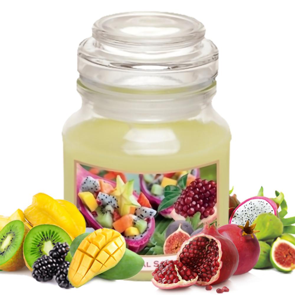 Hũ nến thơm tinh dầu Bartek Fruitful 130g QT028520 - hương trái cây (giao mẫu ngẫu nhiên)