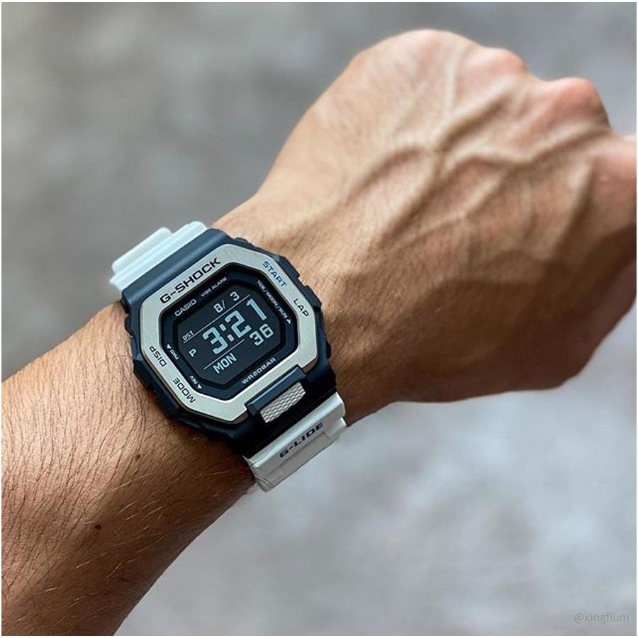 Đồng hồ nam dây nhựa Casio G-Shock chính hãng GBX-100-7DR