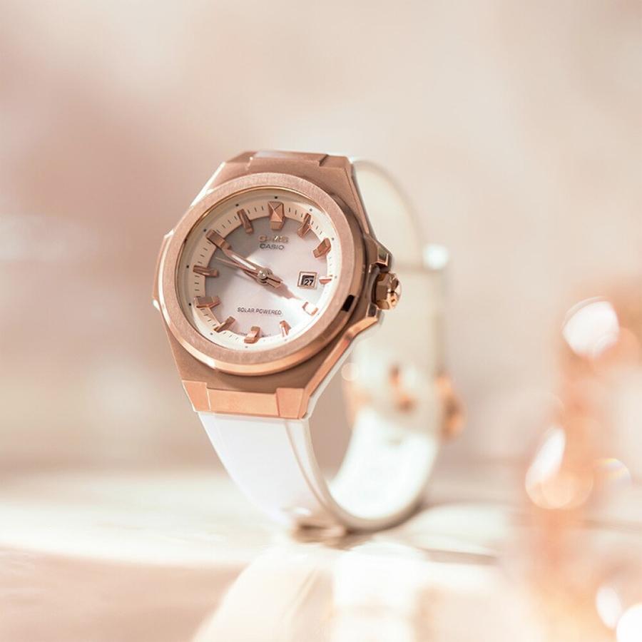 Đồng hồ nữ dây nhựa Casio Baby-G chính hãng MSG-S500G-7A2DR