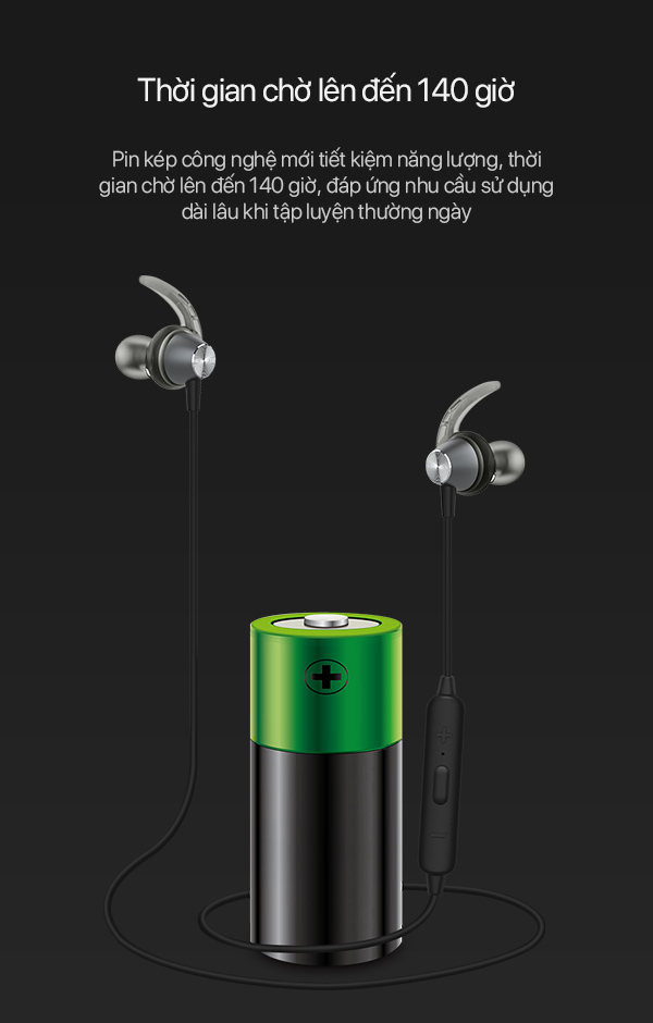 [[ Chờ 140h - Nghe 6h - Phạm Vi 10m - Bluetooth 4.2 ]] - Tai Nghe Bluetooth Không Dây - Cho iOS/Apple (iPhone/iPad), Android - R5 - Hàng Chính Hãng