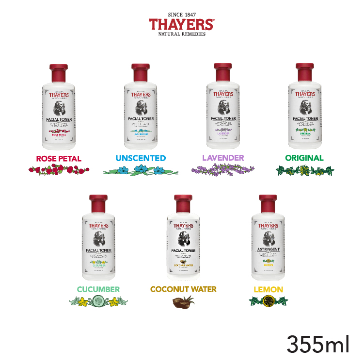 Nước hoa hồng không cồn THAYERS - Phiên bản đầu tiên 355ml