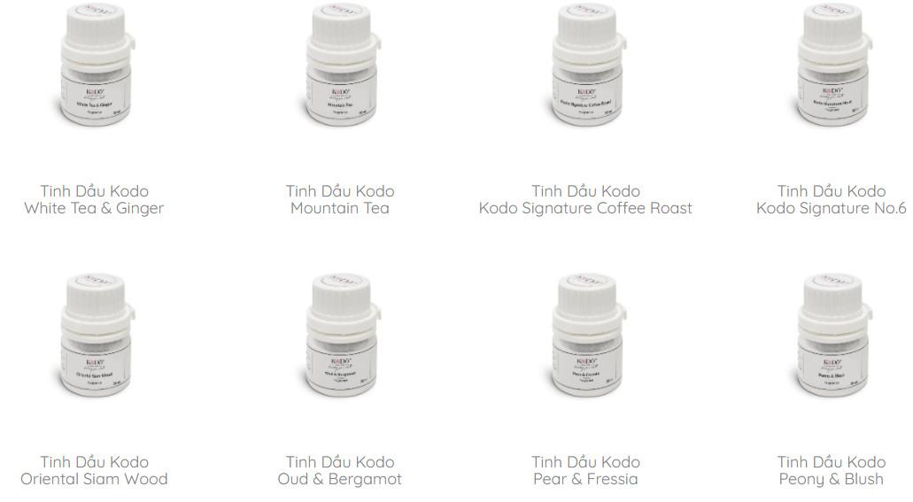 Tinh Dầu Nước Hoa Kodo (25 Mùi Hương) 50 ML/ 110 ML - Nguyên chất - Hương thơm độc đáo