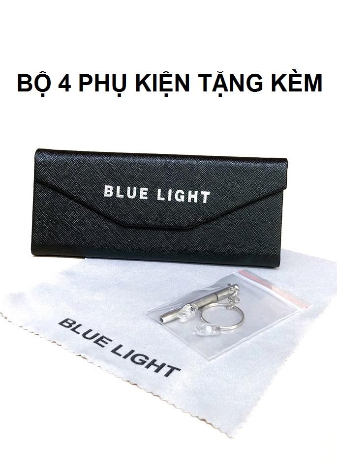 Kính Giả Cận, Gọng Kính Cận Nam Nữ GM V Dáng Tròn Nhỏ Phong Cách Hàn Quốc - BLUE LIGHT SHOP