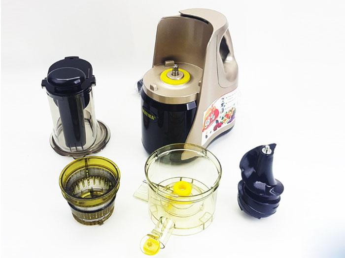 Máy Ép Chậm Matika Công Nghệ Ép Thông Minh Giữ Nguyên Vẹn Vitamin-Hàng Nhập Khẩu (Màu Ngẫu Nhiên)