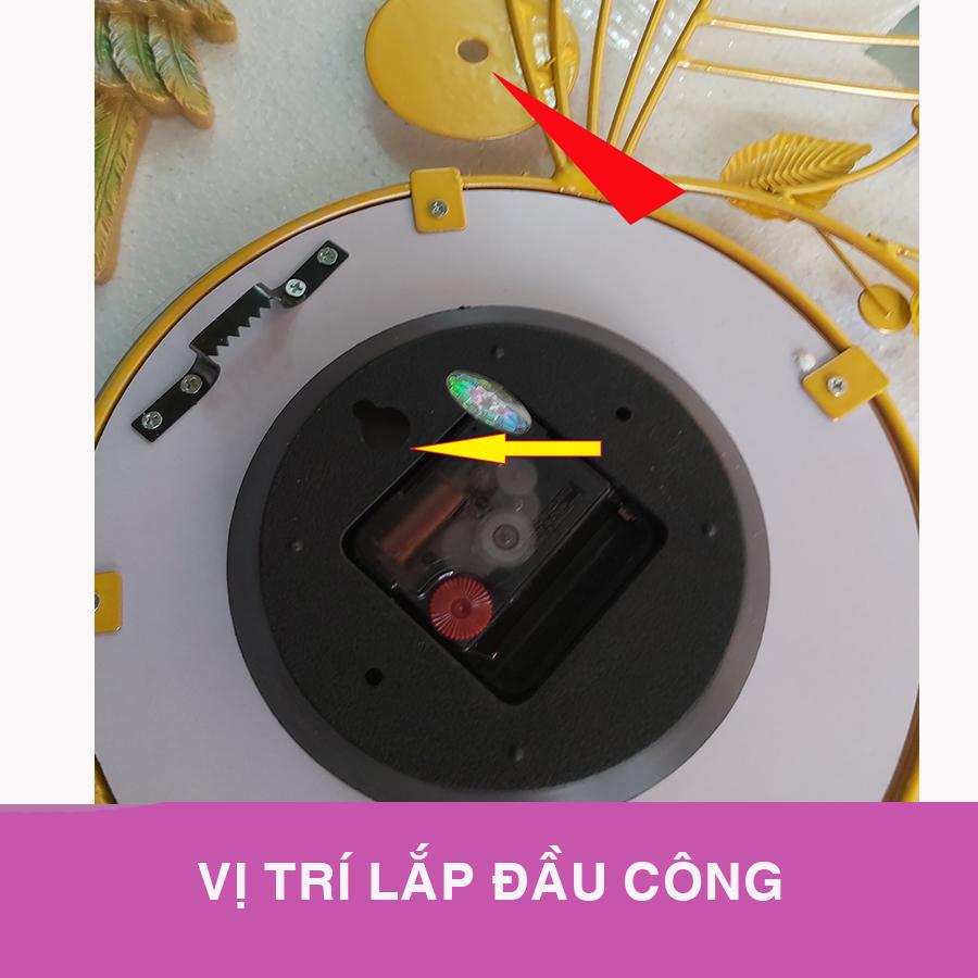 Đồng Hồ Đôi Công Phú Quý A999 (Kèm máy đồng hồ thay thế)