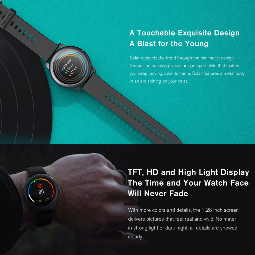 Đồng hồ thông minh Haylou Solar LS05 phiên bản toàn cầu | Tiki