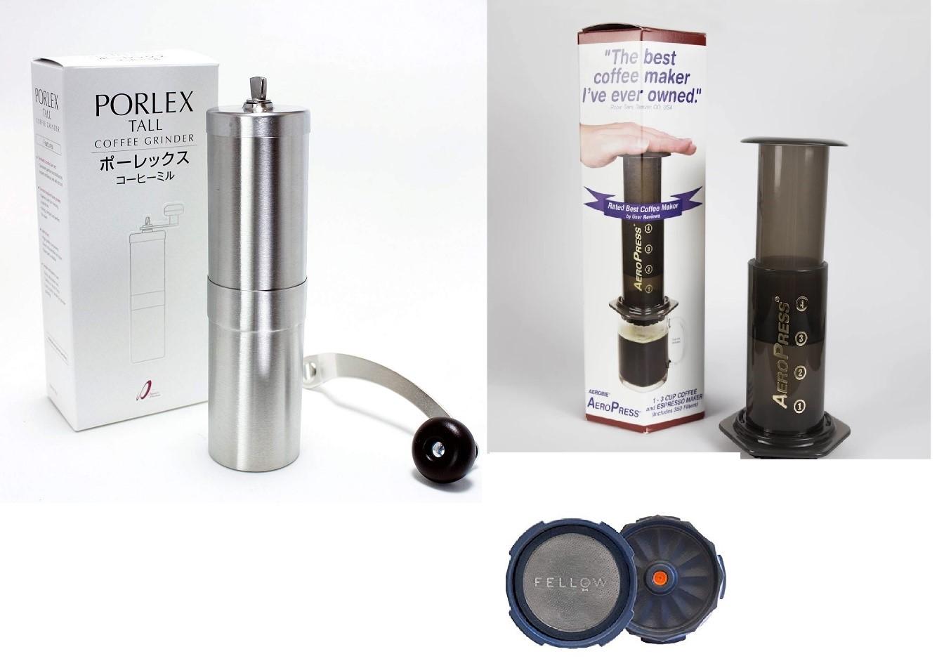 BỘ DỤNG CỤ ÉP CÀ PHÊ KIỂU MỸ AEROPRESS- AEROPRESS KIT COFFEE MAKER- MADE IN USA