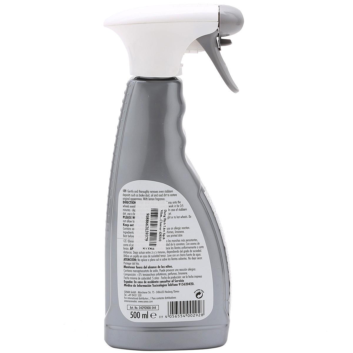 Dung Dịch Làm Sạch Mâm Vành SONAX Rim Cleaner 429200 (500ml)
