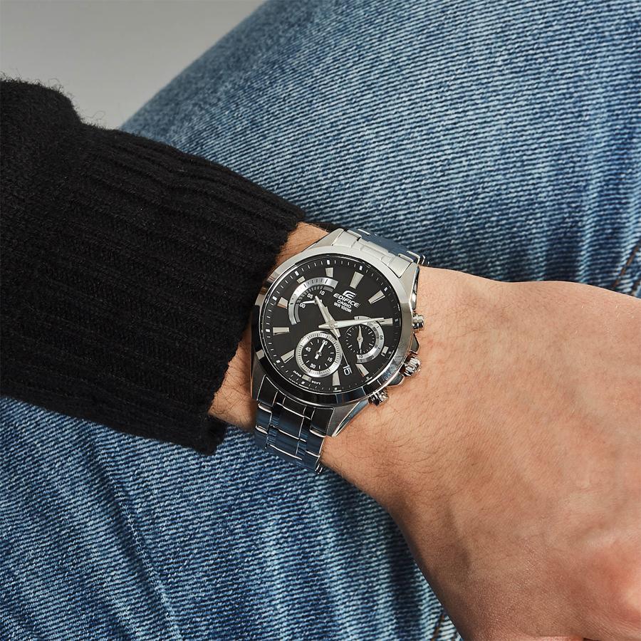 Đồng hồ nam dây kim loại Casio Edifice chính hãng EFV-580D-1AVUDF
