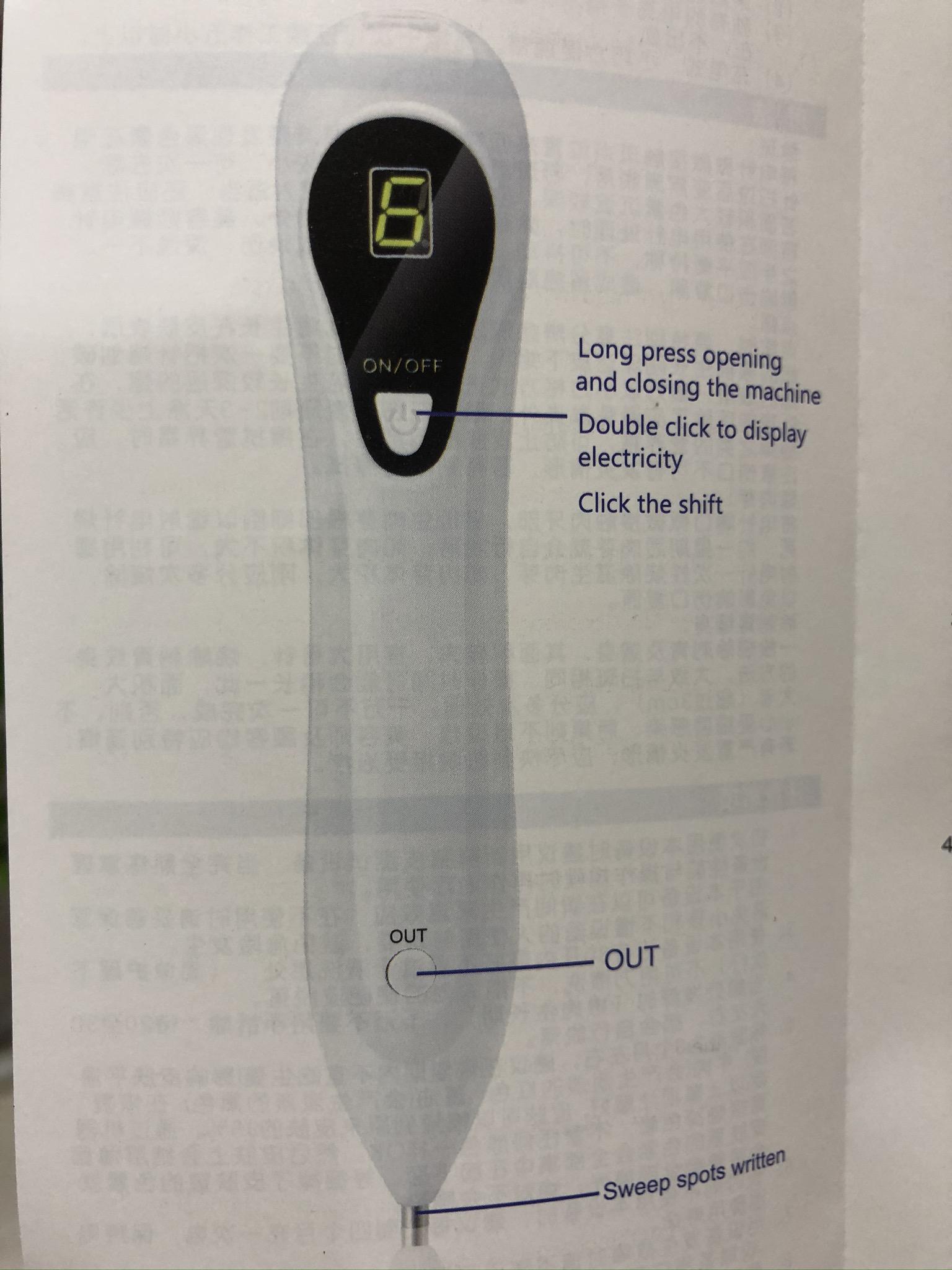 Bút xóa tàn nhang, nốt ruồi, vết nám cao cấp (Loại sạc điện cổng USB)