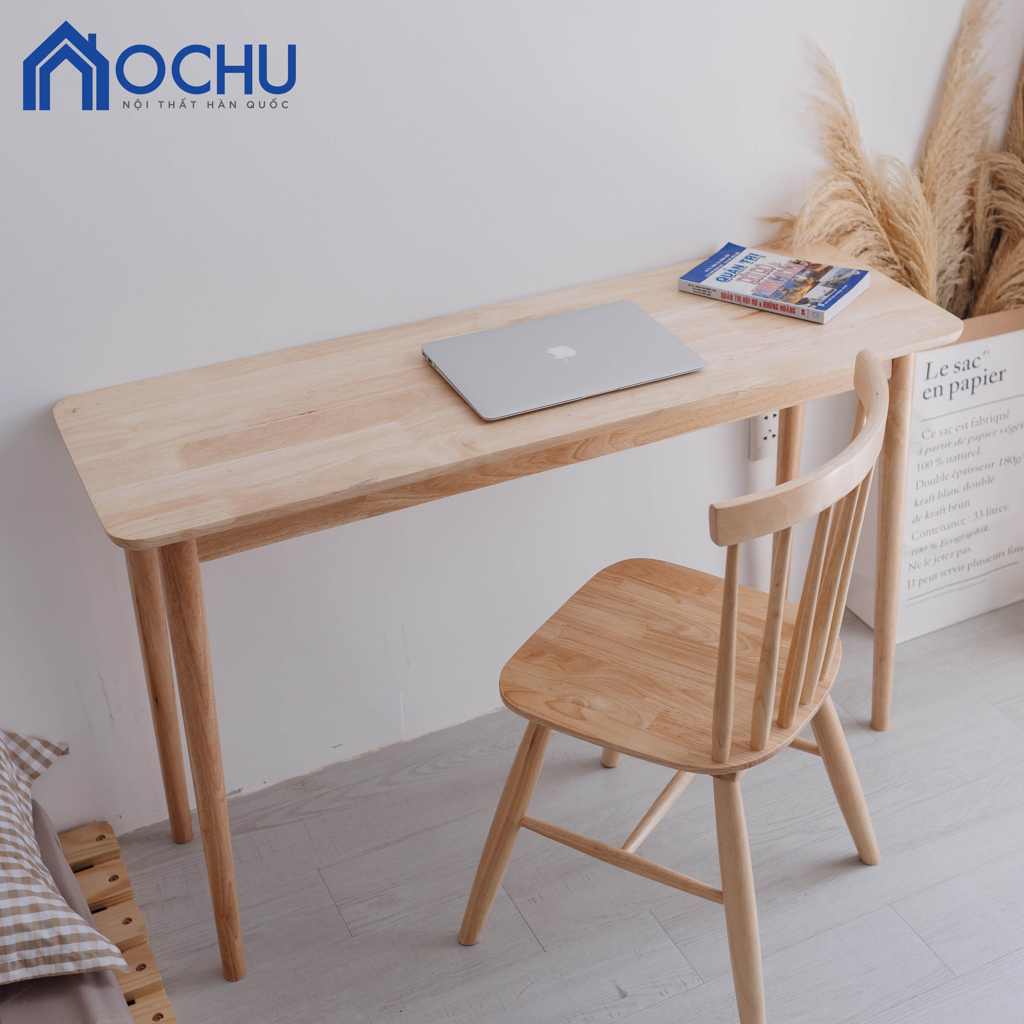 Bàn Làm Việc Gỗ OCHU - A Table - Natural