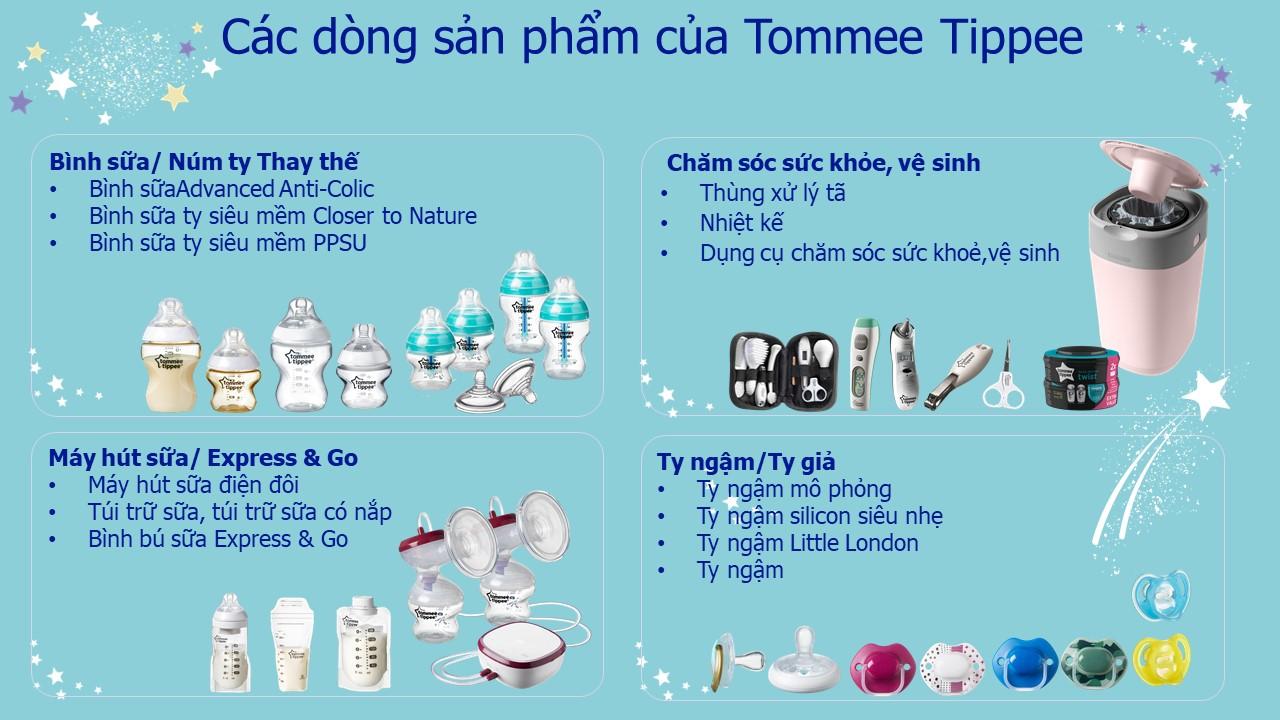 Ly uống nước chống đổ cho bé Tommee Tippee No-Knock 300ml từ 18 tháng - Tím