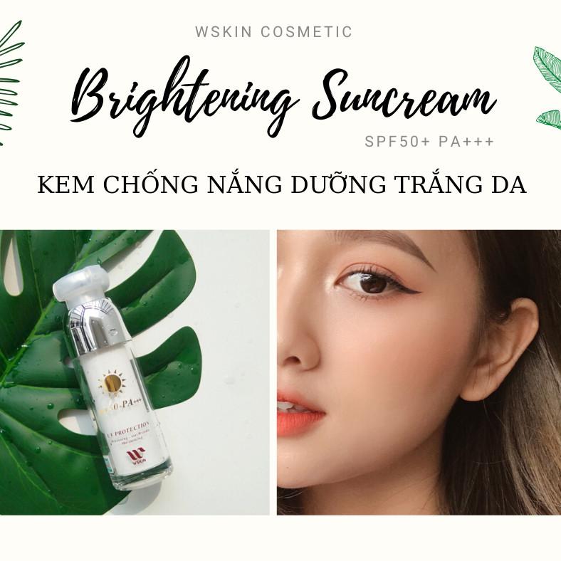 Kem Chống Nắng Trắng Da WSKIN Sun Cream SPF50+/ PA+++
