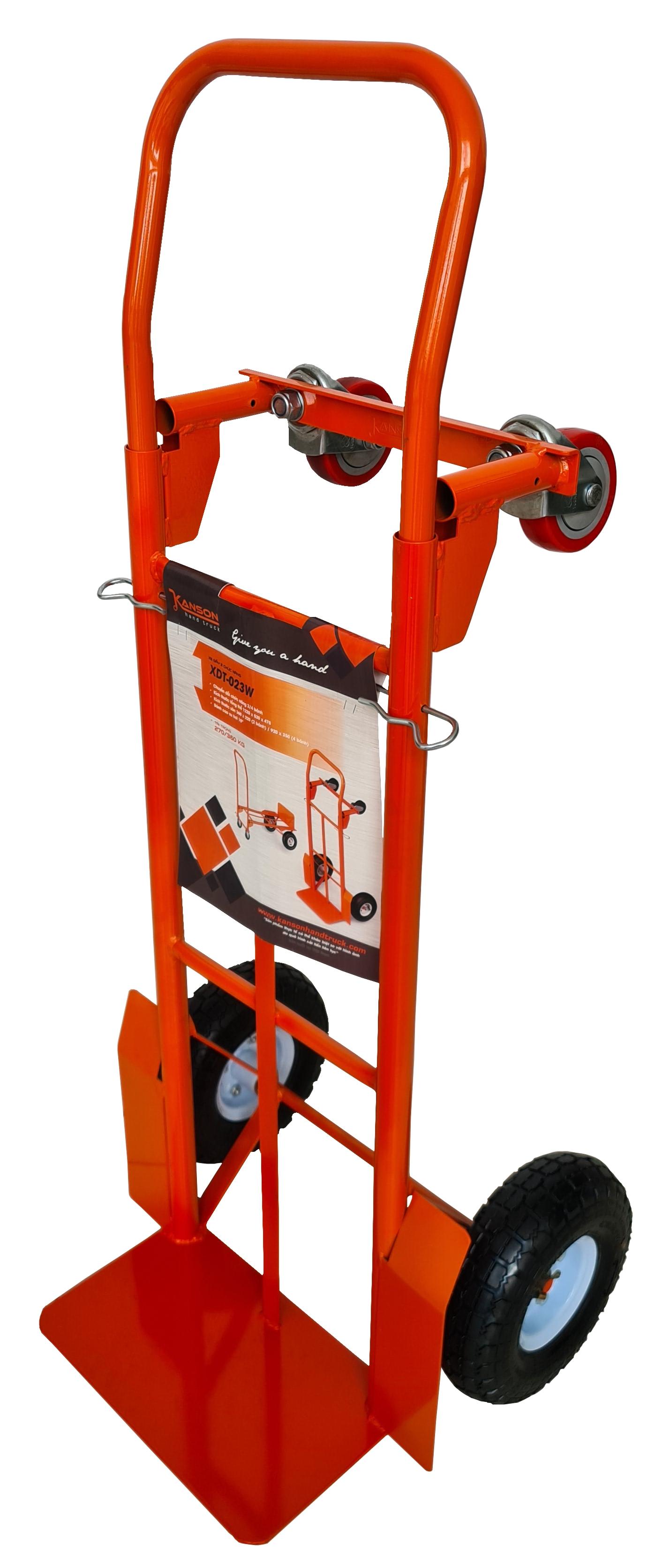 Xe đẩy Kanson hai chức năng màu cam TP-XDT023W - tải trọng từ 270-360kg