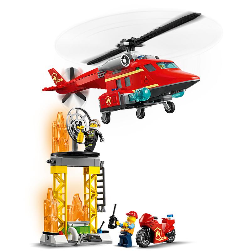 Đồ chơi LEGO City Trực Thăng Cứu Hỏa 60281