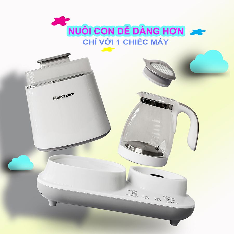 Máy Tiệt Trùng Sấy Khô - Đun Nước Siêu Tốc & Hâm Nước Đa Năng Mum'S Care MC-7902