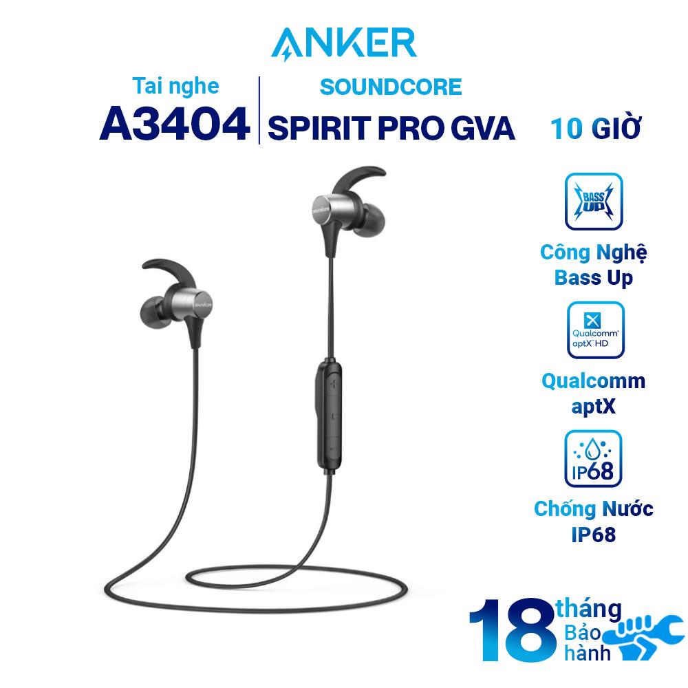 Tai Nghe Bluetooth Nhét Tai Anker Soundcore Spirit Pro GVA A3404 - Hàng  Chính Hãng