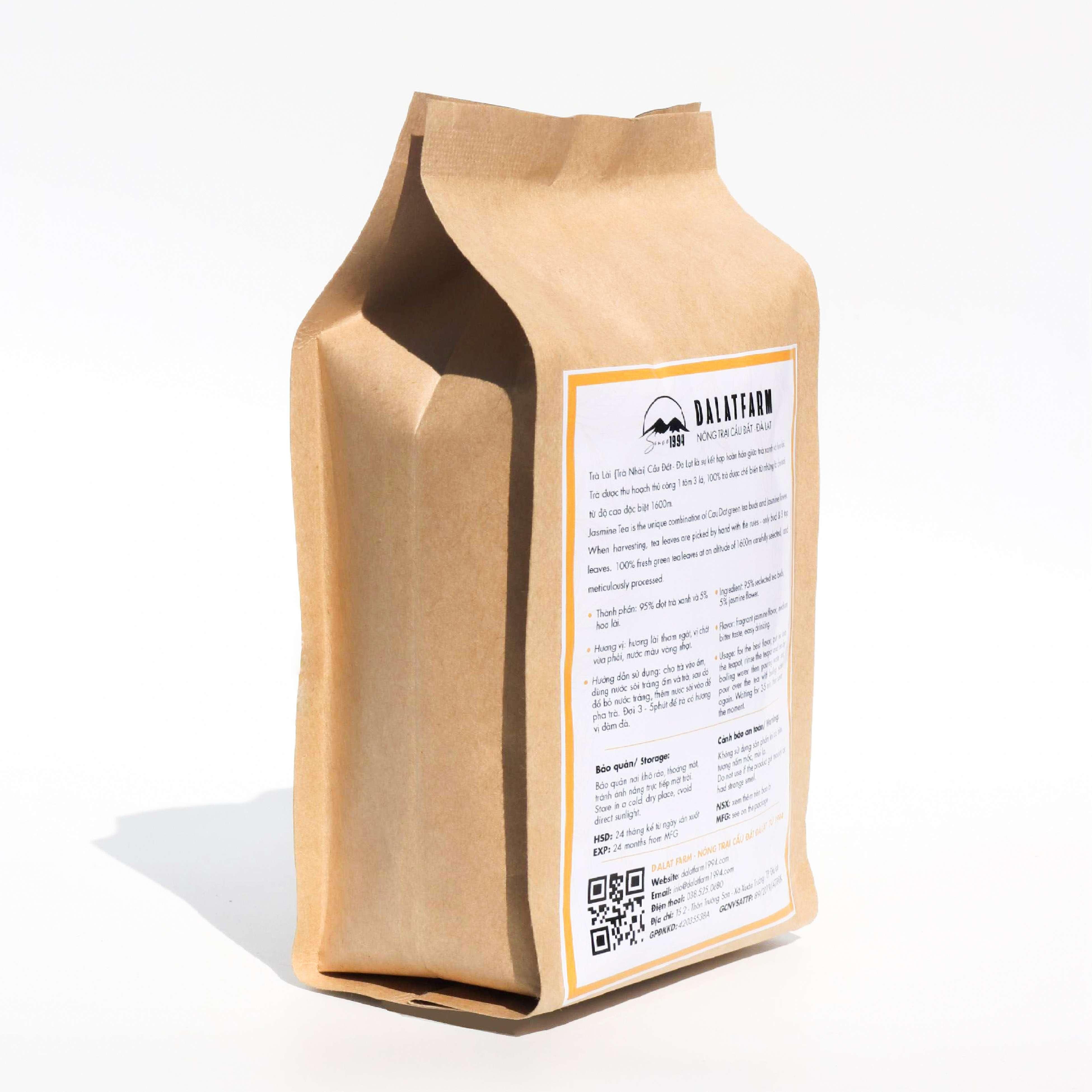 Trà Lài Cầu Đất - Túi 150Gr (Trà Hoa Nhài - Jasmine Tea)