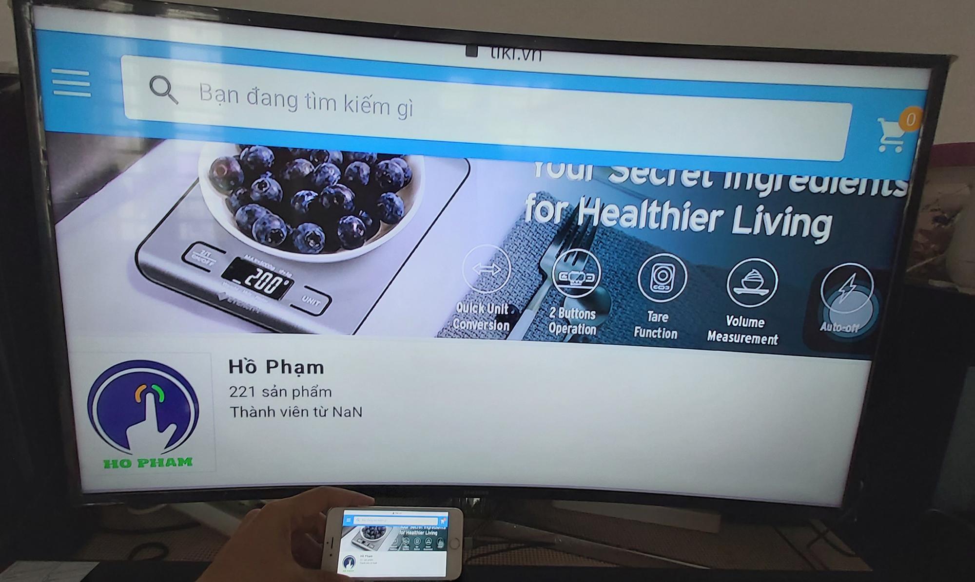 Cáp kết nối ĐT iPhone sang TV - HDMI FullHD dài 2m - Đen