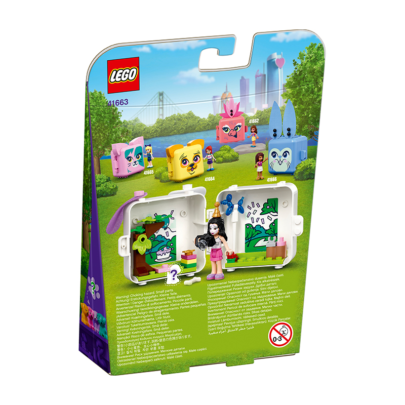 Đồ chơi LEGO Friends Hộp Phụ Kiện Chó Đốm Của Emma 41663