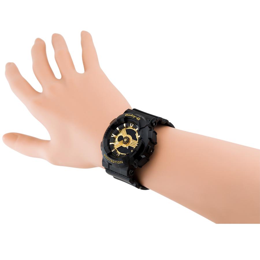 Đồng hồ nữ dây nhựa Casio Baby-G chính hãng BA-110-1ADR