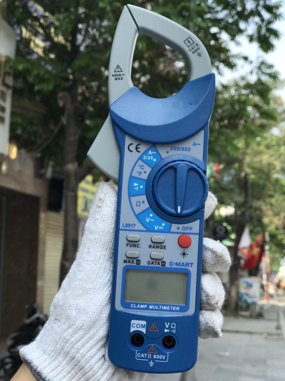 Ampe kìm đo AC kỹ thuật số chính hãng C-MART
