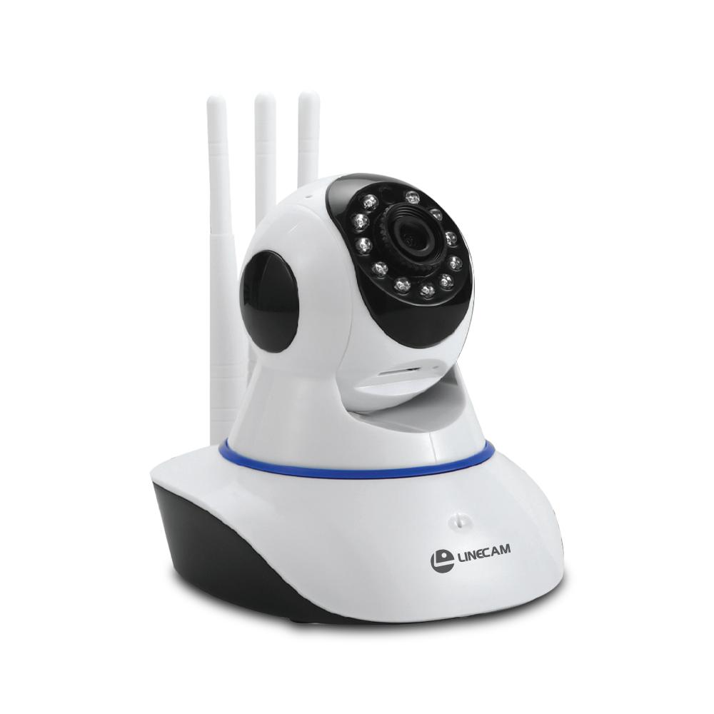 Camera ip wifi LINECAM MQ88 Fullhd 1080P 3 RÂU xoay 360 độ- Hàng chính hãng