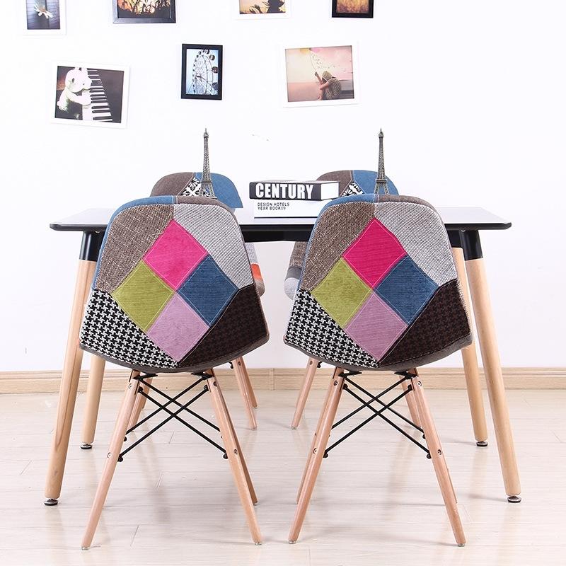 Ghế EAMES DSW bọc vải nhiều màu