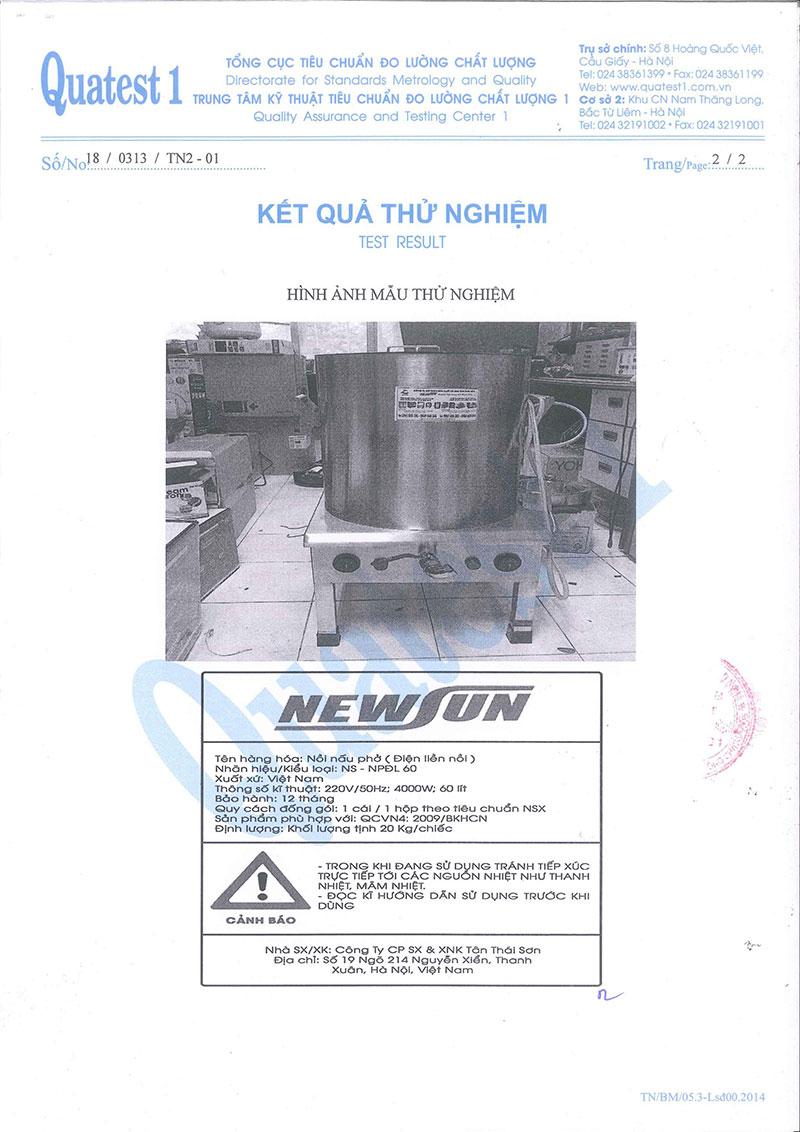 Nồi Nấu Nước Lèo NEWSUN 50L - Hàng Chính Hãng