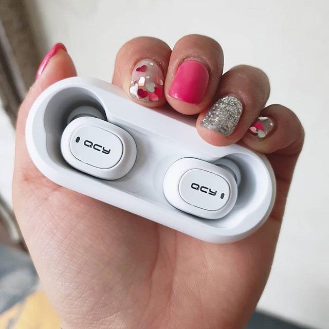 Tai Nghe Bluetooth Không Dây QCY-T1 Mini - Hàng Chính Hãng ( Tặng Kèm Dây Sạc Veger)