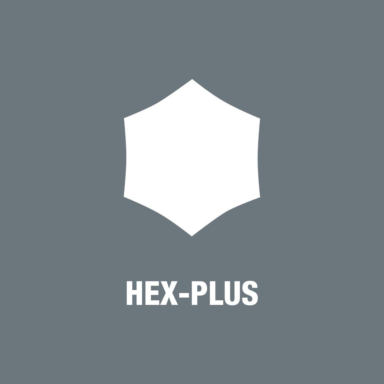 Bộ lục giác bi thép không gỉ Wera 3950 PKL/9 hex-plus stainless 1 mã 05073544001 gồm 9 cái kèm kẹp nhựa