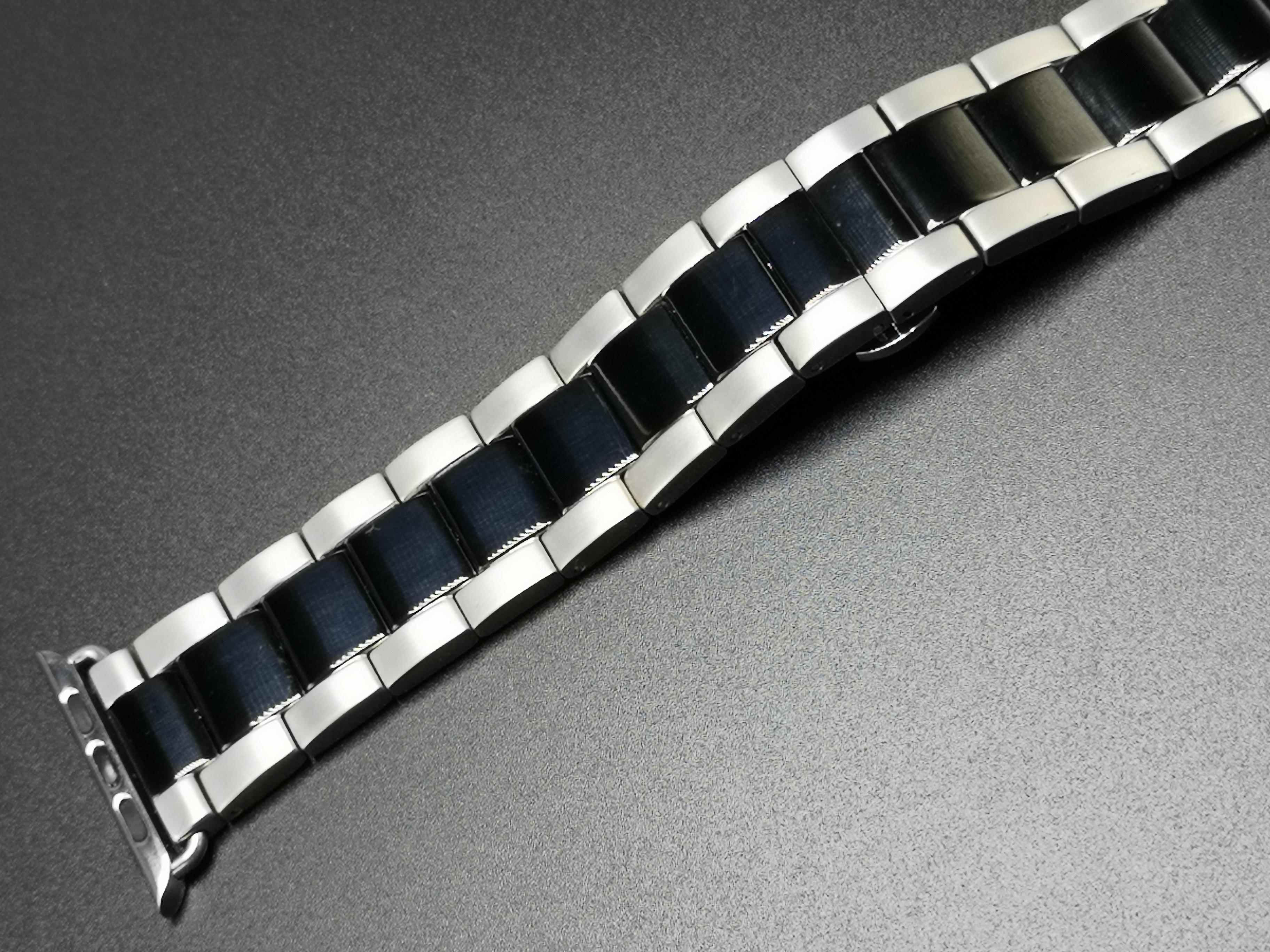 Dây thép thời trang nam dành cho Apple watch