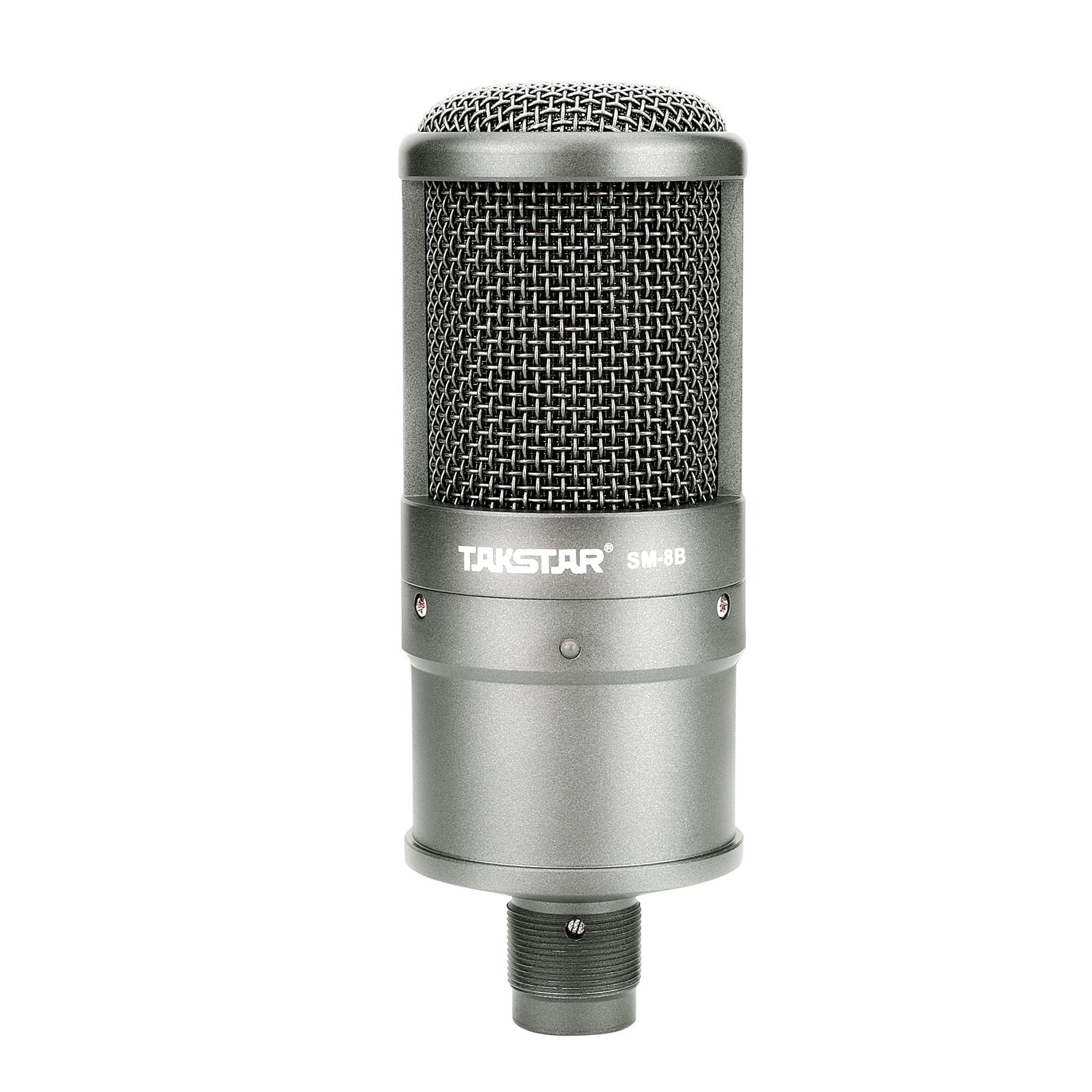 Combo trọn bộ mic thu âm, livestream, hát karaoke online chính hãng Takstar , Micro SM-8B, Icon Upod Nano, Tai nghe Ts-2260 và đầy đủ phụ kiện