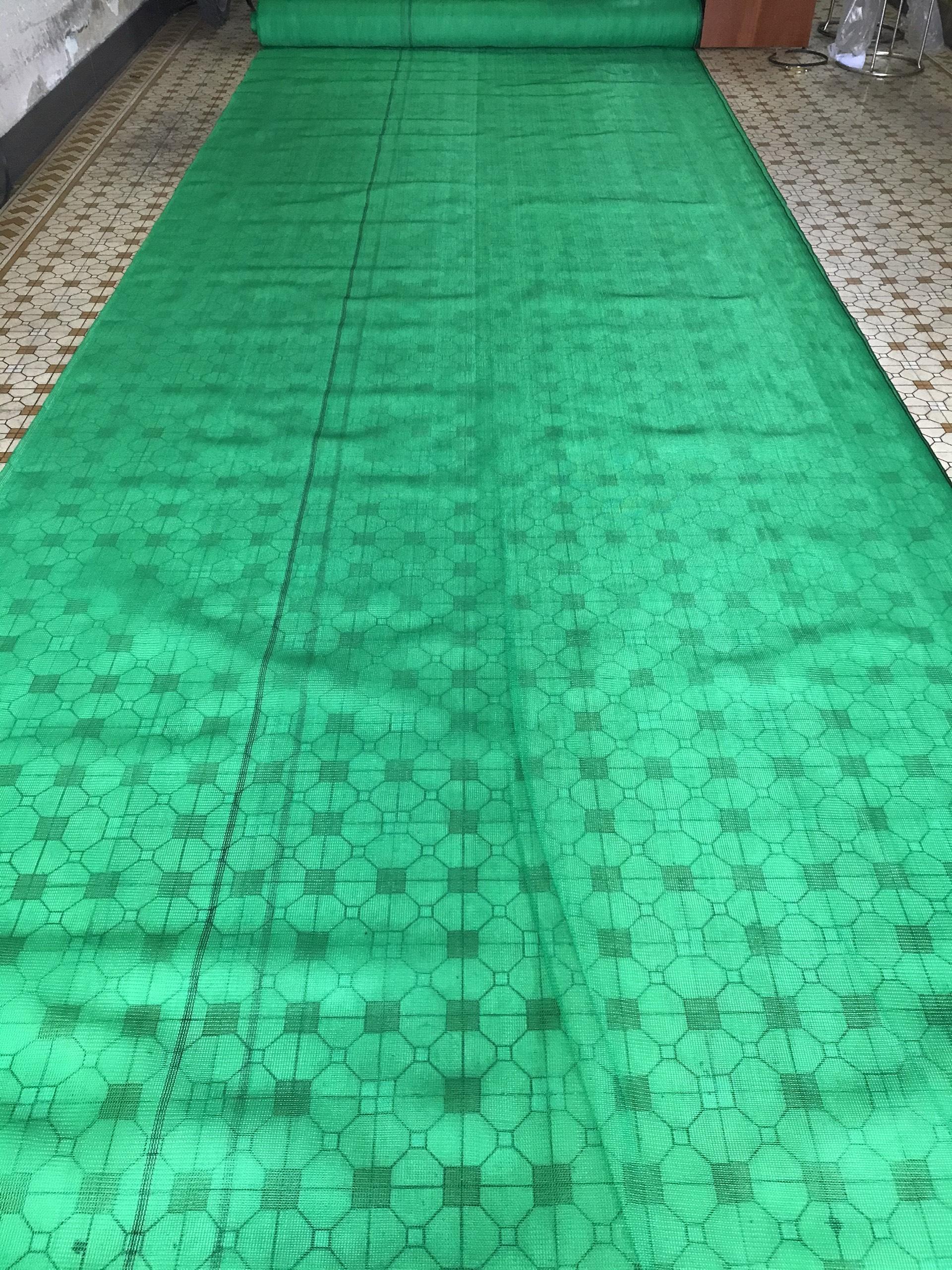 Lưới che nắng dệt kim mono màu xanh (4x5m)