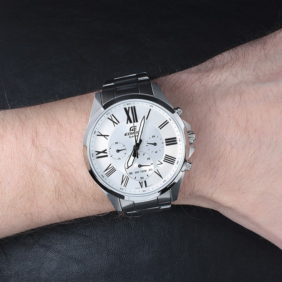 Đồng hồ nam dây kim loại Casio Edifice chính hãng EFV-500D-7AVUDF