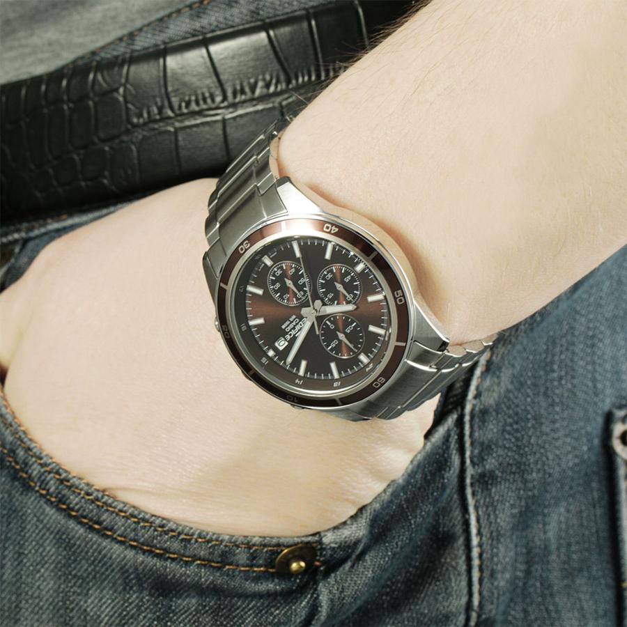 Đồng hồ nam dây kim loại Casio Edifice chính hãng EFR-526D-5AVUDF