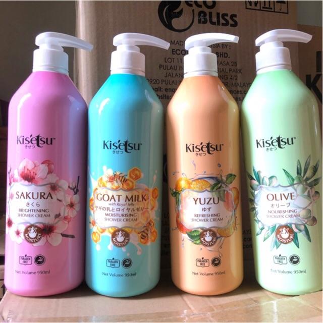 Sữa tắm Kitsetsu Sáng da dưỡng ẩm - Yuzu, 950ml
