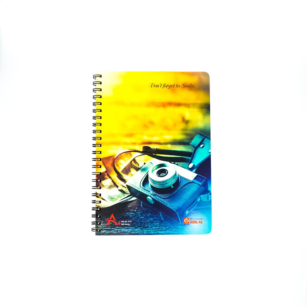 Sổ lò xo 240 trang Creative A4 4151 (lốc 5 quyển)