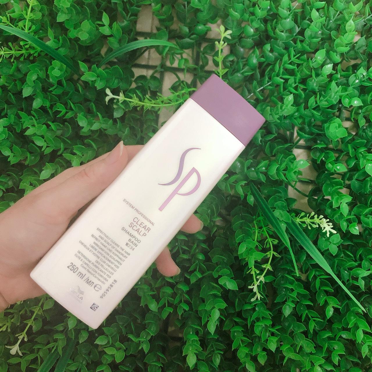 Dầu gội trị gàu Wella SP System Professional Clear Scalp shampoo 250ml