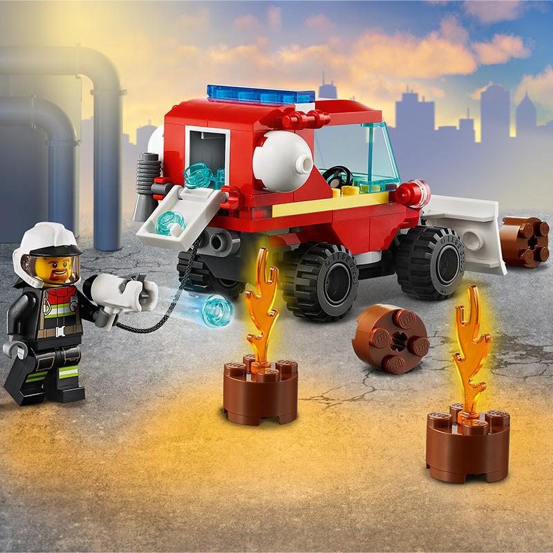Đồ chơi LEGO City Xe Tải Chữa Cháy 60279
