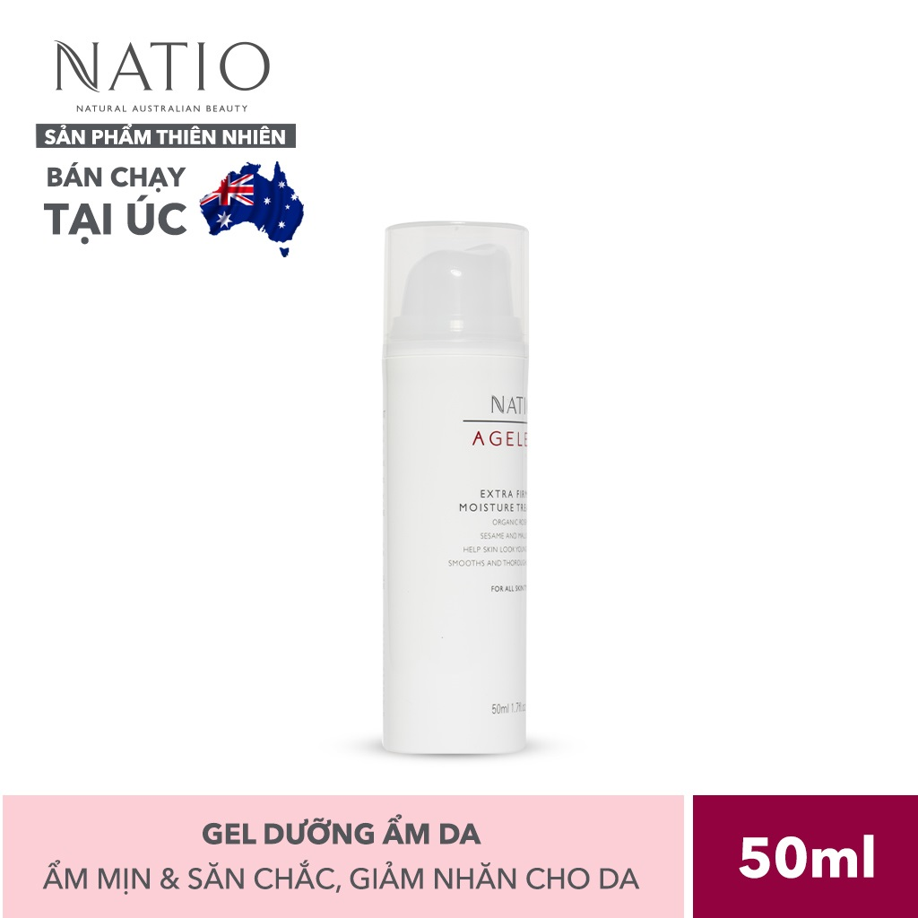 Gel Dưỡng Ẩm Da Natio Ageless Extra Firming Moisture Treatment 50ml