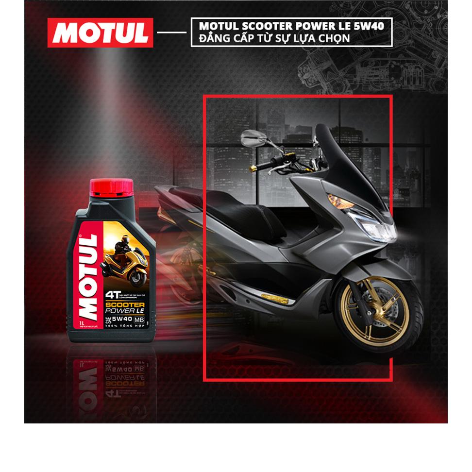 Nhớt Xe Tay Ga Motul Scooter Power Le 4t 5w40 20x1l Vn (1L)
