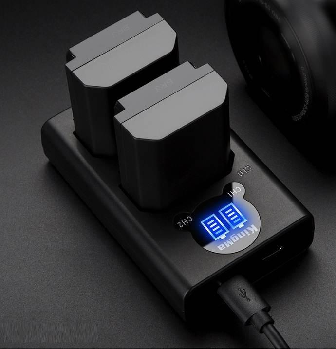 Sạc pin đôi LCD NP-FZ100