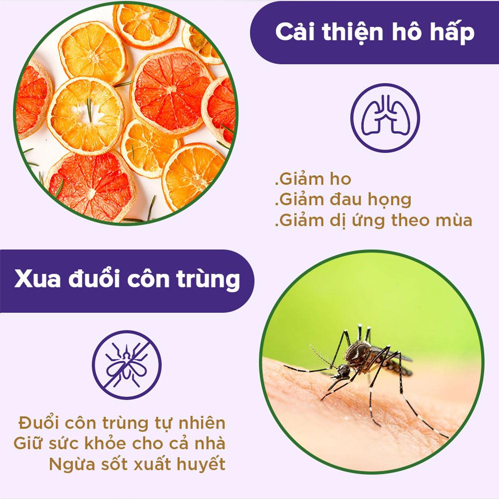 [30ml] Tinh dầu Cam ngọt NOOKY 100% Thiên Nhiên - TORO FARM