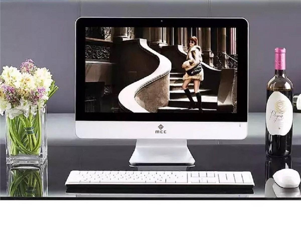 Bộ PC để bàn All in ONE (AIO) MCC2041 Home Office Computer CPU Dual 2.9Ghz/Ram4G/SSD120G/22inch - Hàng Chính Hãng