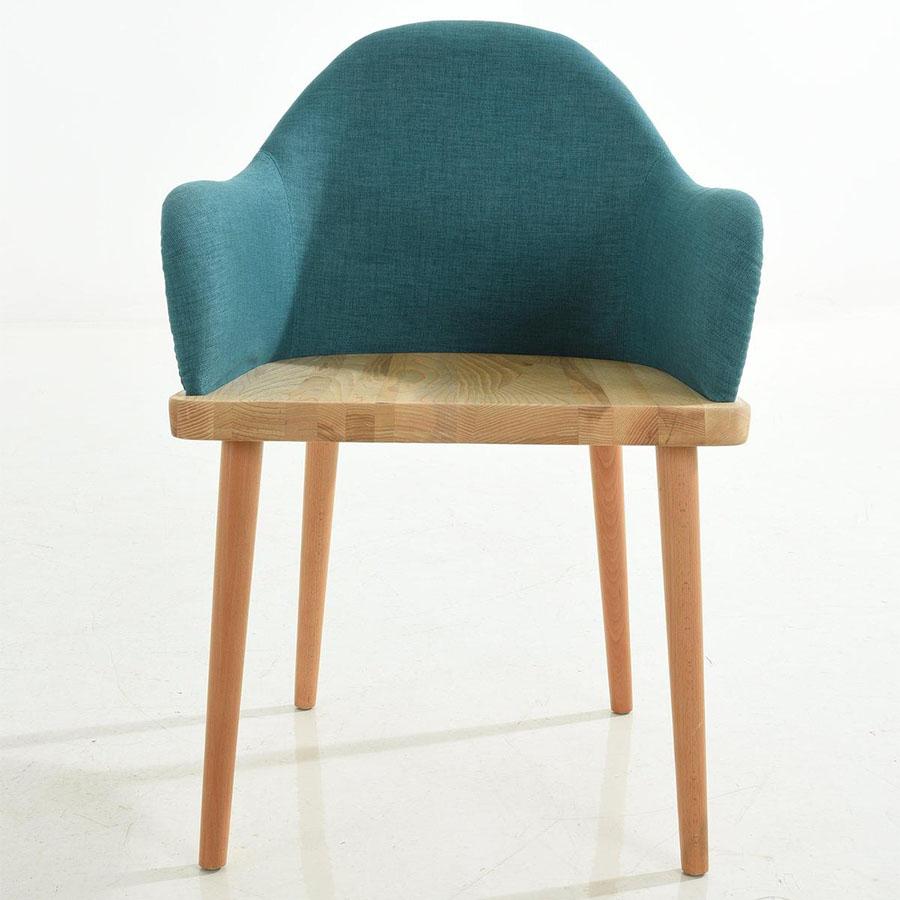 Ghế ăn S072 lưng bọc vải