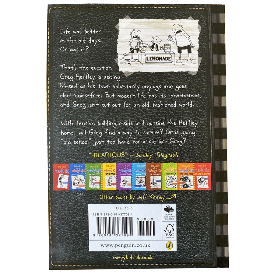 Truyện thiếu nhi tiếng Anh - Diary Of A Wimpy Kid 10: Old School (Paperback)