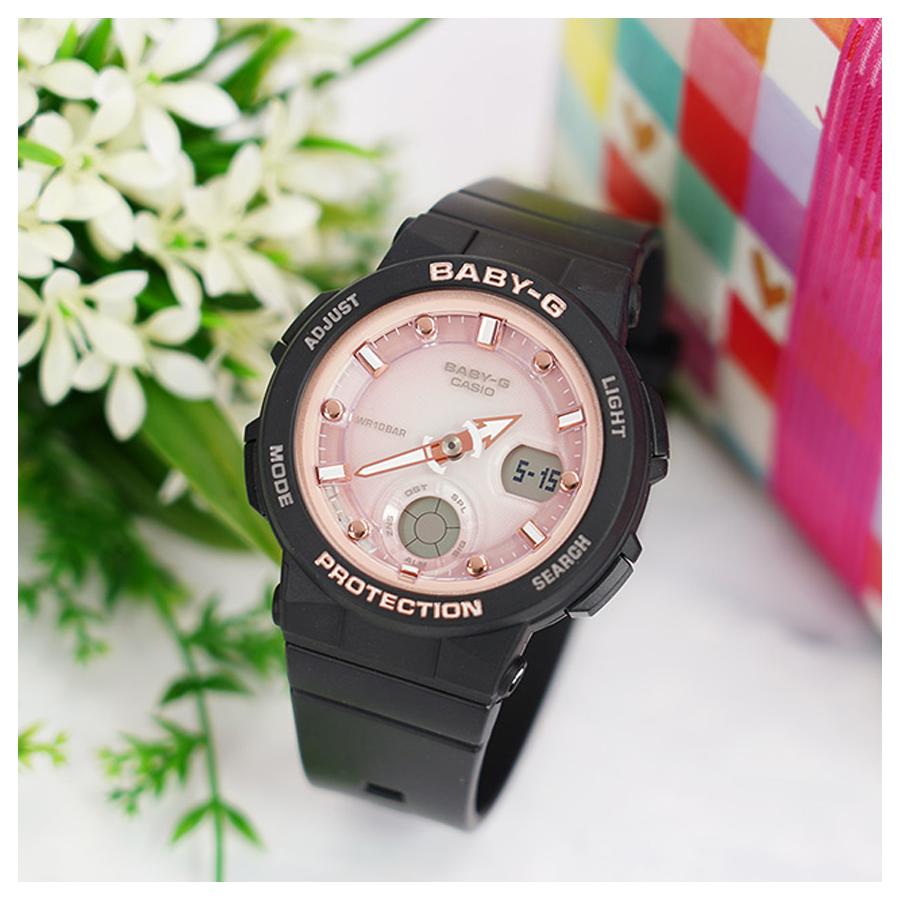 Đồng hồ nữ dây nhựa Casio Baby-G chính hãng BGA-250-1A3DR